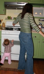 Helping Mommy Cook