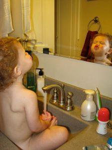 sink bathing 4