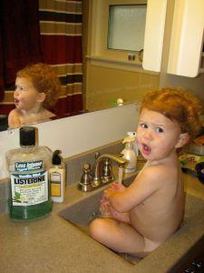 sink bathing blog 1